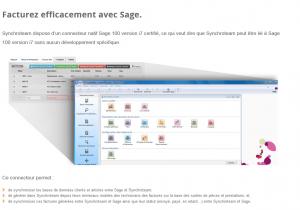 Intégration de Synchroteam dans le logiciel de comptabilité SAGE