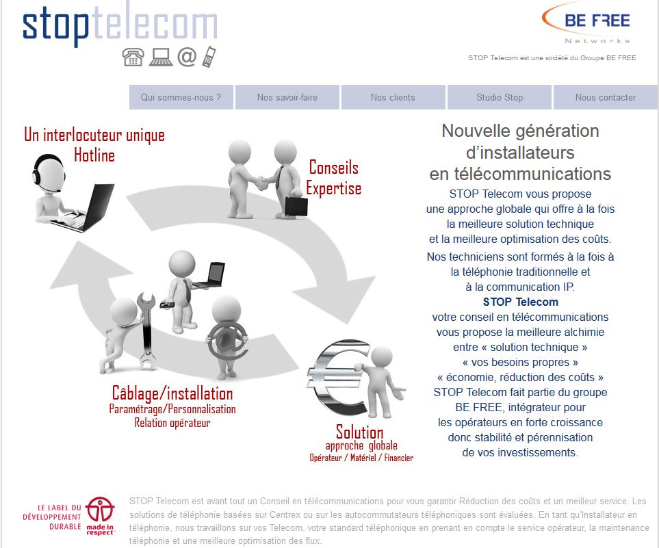 STOP Telecom utilisateur de Synchroteam pour la dématérialisation des rapports d'activité de maintenance