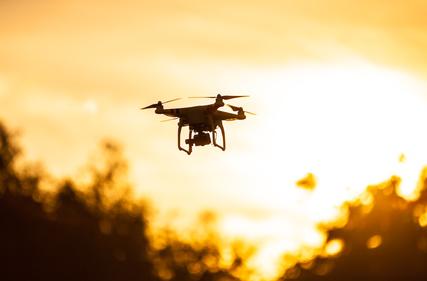 Drones et interventions de maintenance