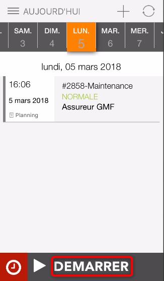 Client mobile Synchroteam pour iOS et Android